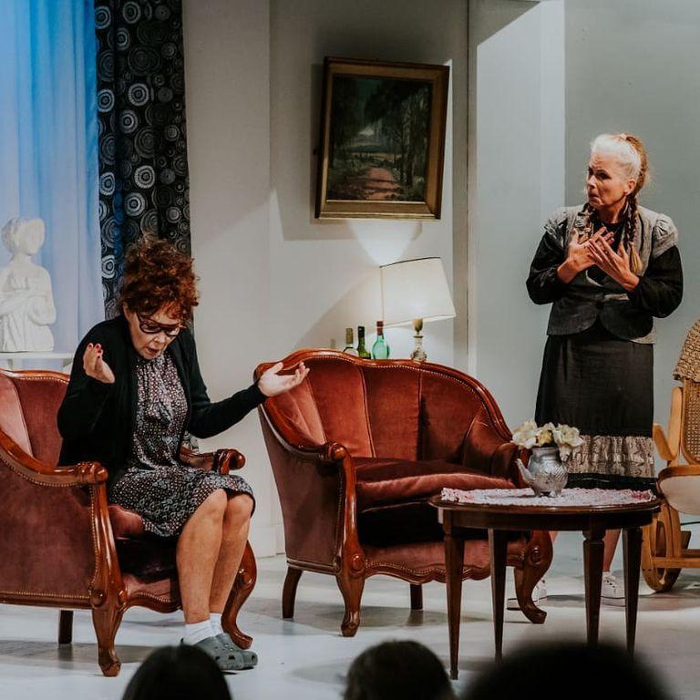 """Patricia Palmer y Cecilia Dopazo son las protagonistas de """"Radojka"""". La obra teatral dirigida por Diego Rinaldi, tiene lugar los viernes y sábados en el Teatro Picadilli."""
