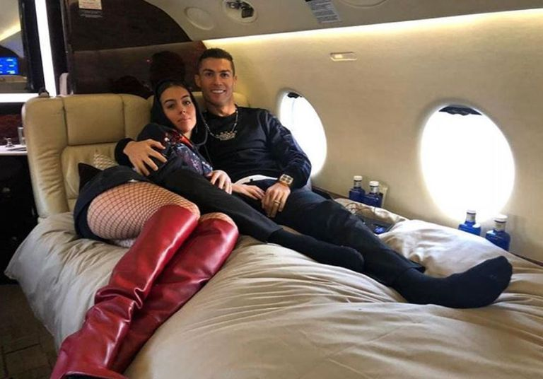 El lujoso y exclusivo avión privado de Cristiano Ronaldo