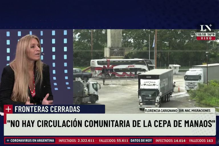 Florencia Carignano Directora Nacional de Migraciones