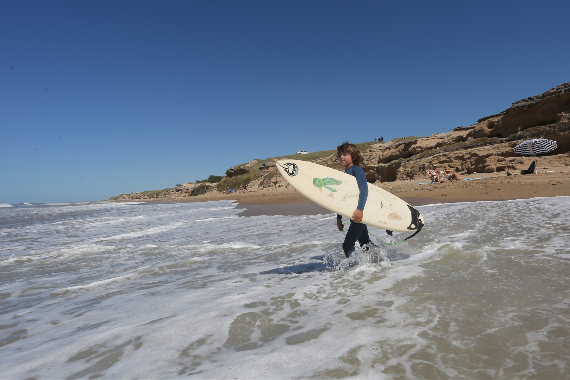 Centinela del Mar es un paraíso de soledad y surf