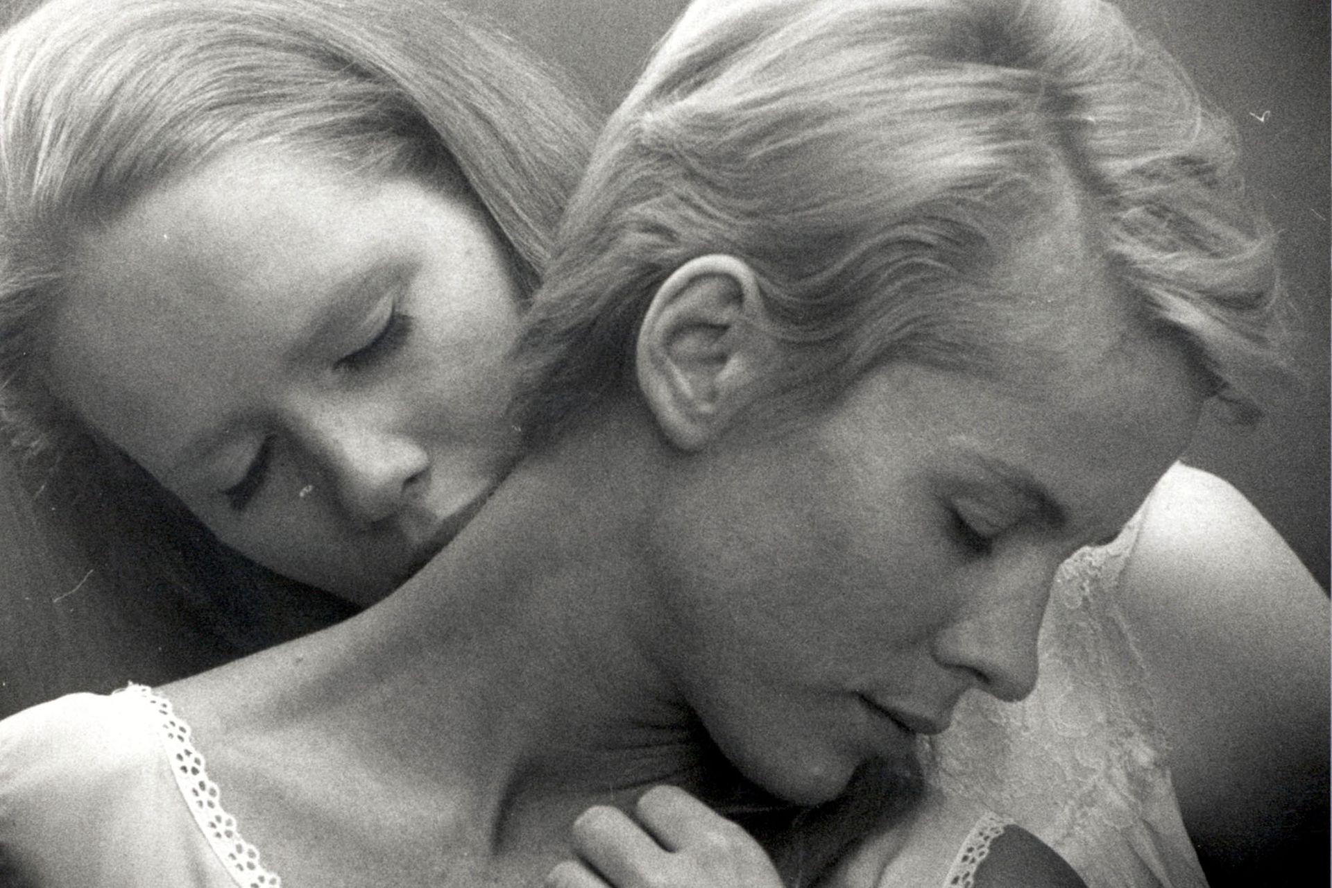 Persona, con Liv Ullmann y Bibi Andersson (1966)
