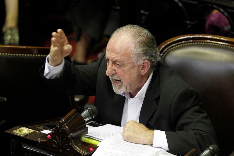Hugo Yasky, diputado del Frente de Todos y jefe de la CTA