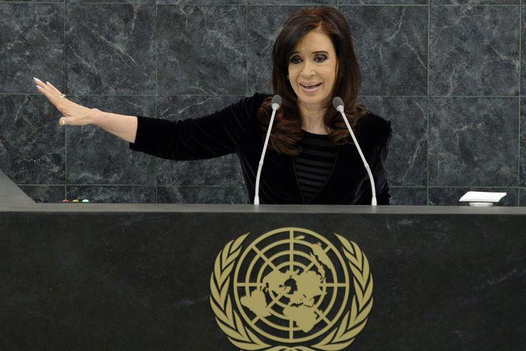 El duro discurso de Cristina Kirchner ante la ONU