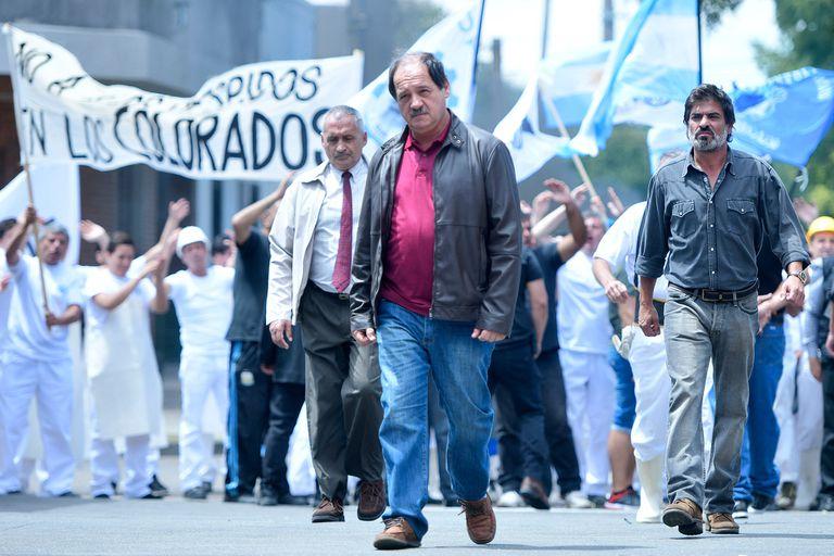 Julio Chavez interpreta a un sindicalista implacable.