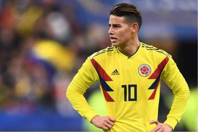La selección de Colombia con James Rodríguez como una de sus figuras tiene la nómina de los 35 preseleccionados para el Mundial Rusia 2018