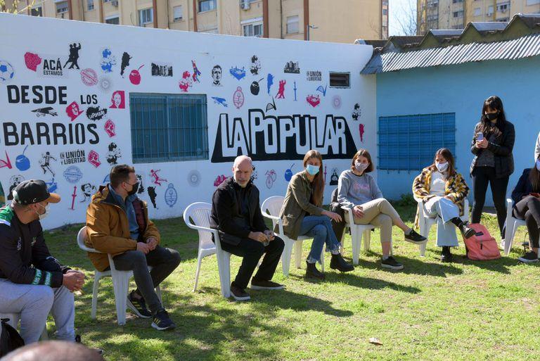 Horacio Rodríguez Larreta visitó una sede de La Popular junto a María Migliore después de las PASO
