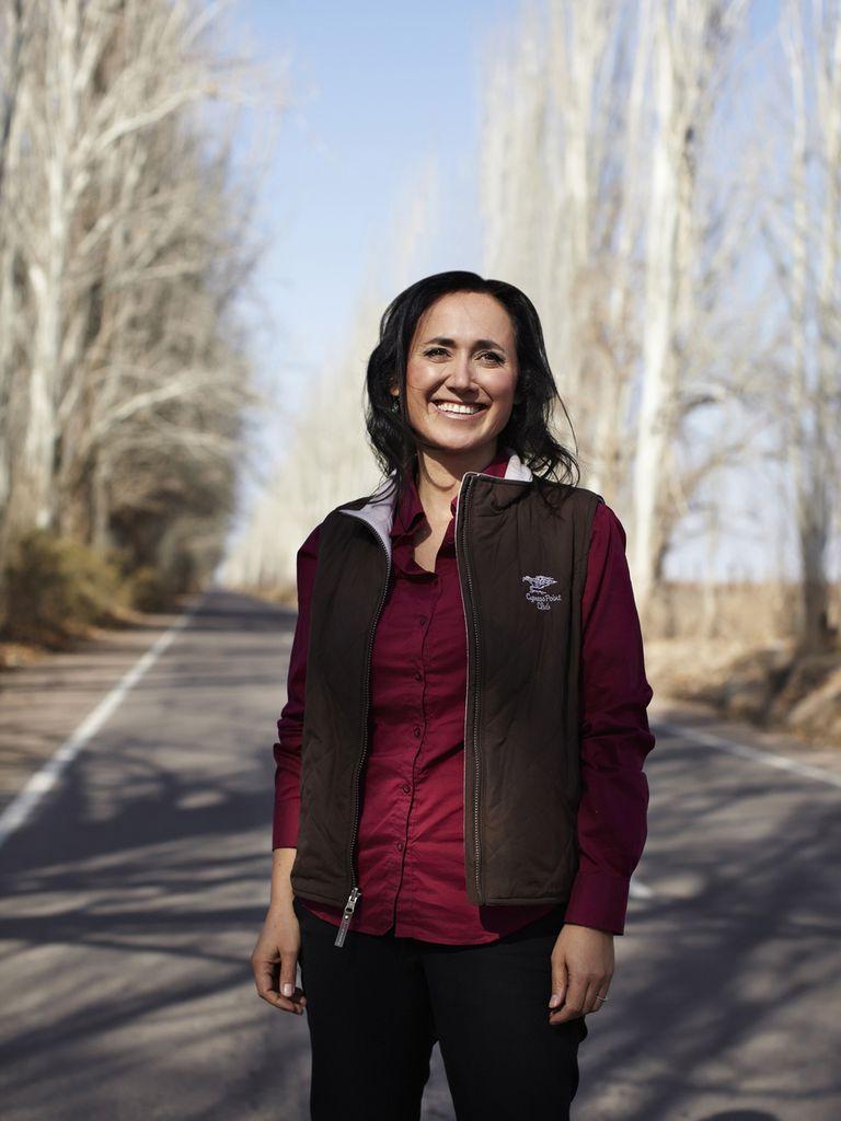 Laura es la hija del medio de Nicolás Catena Zapata, el hombre que jugó un papel fundamental en la internacionalización del vino argentino