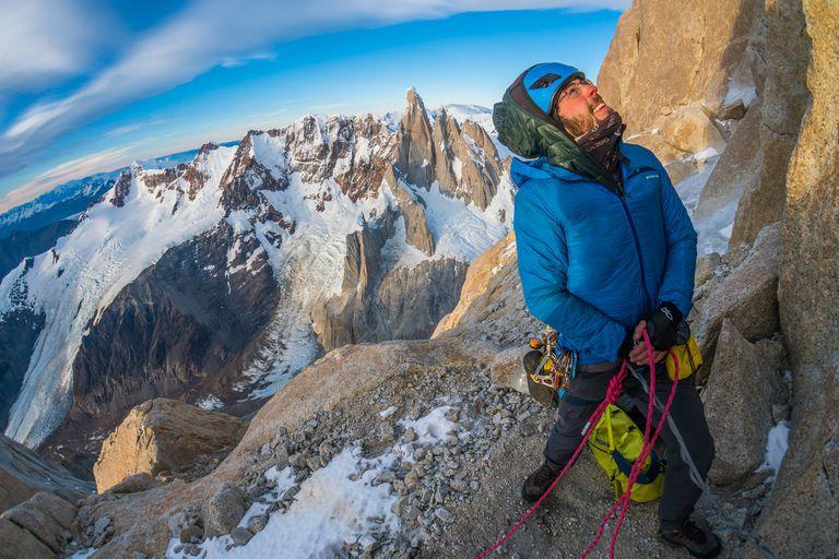 Un escalador estadounidense subió y bajó el Fitz Roy sin protección