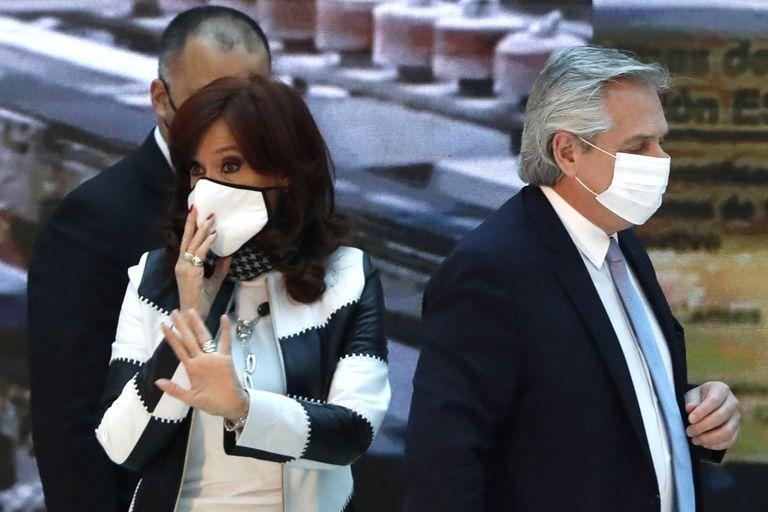 Alberto Fernández, arrinconado una vez más por Cristina