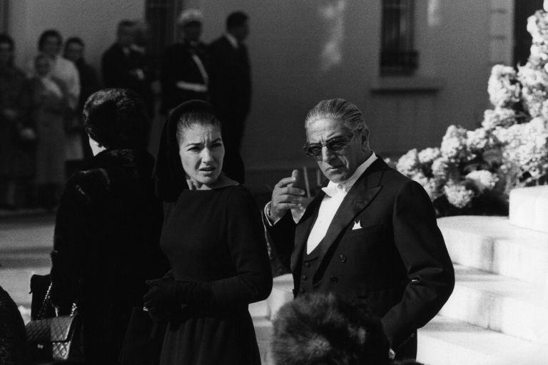 María Callas y Aristóteles Onassis, una historia de amor, infidelidades y odios