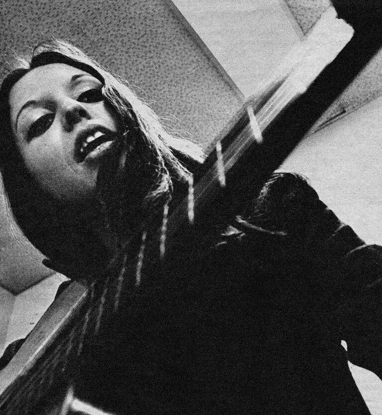 Cristina Plate en 1970