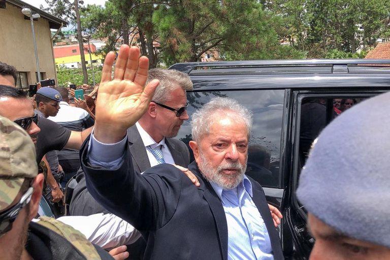 Lula está preso desde abril del año pasado