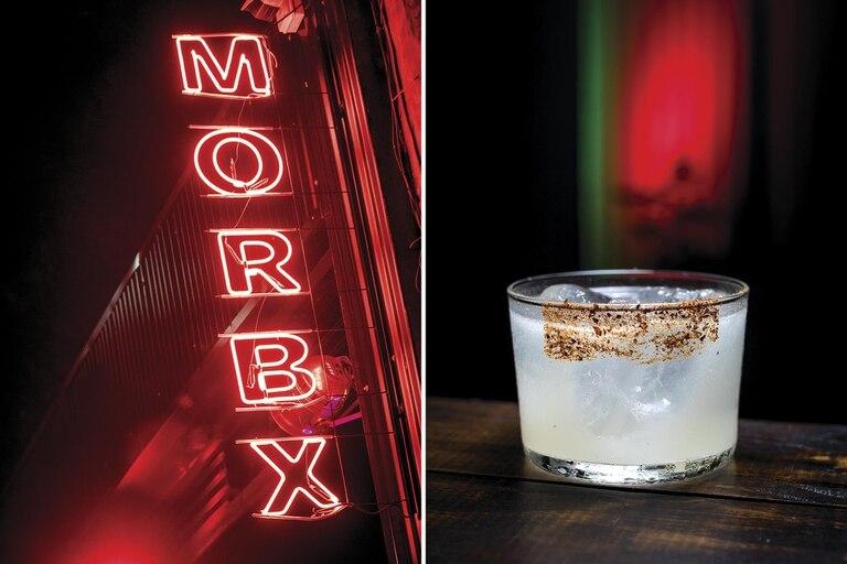Uno de los grandes aciertos de Morbx es el ambiente. Los cócteles son perfectos.