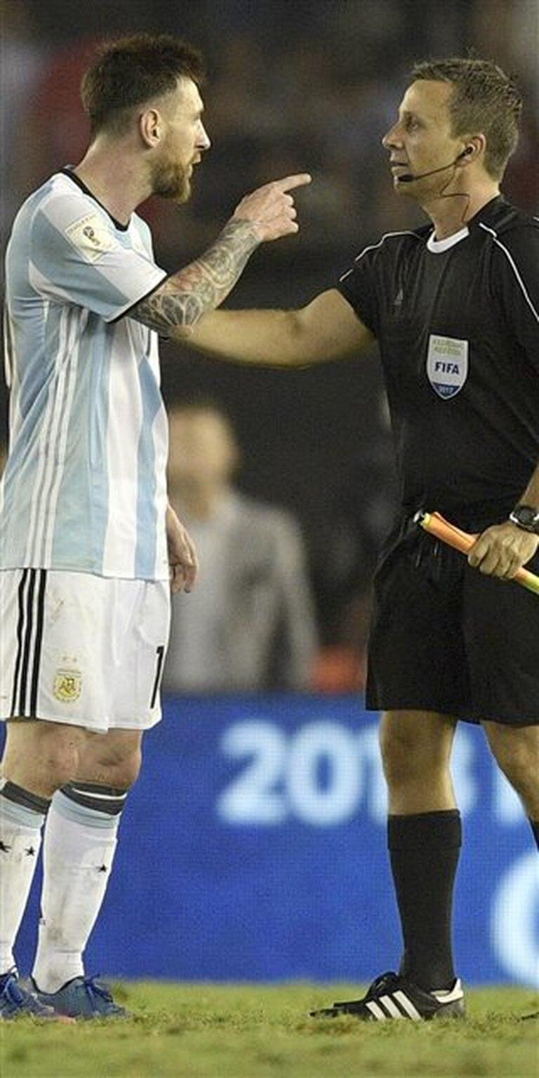 Messi, el día del partido con Chile en el Monumental