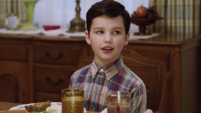 Sheldon Cooper a los nueve años