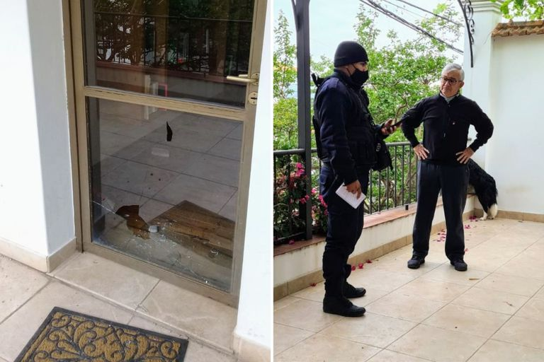 Atacaron con piedras la casa de un diputado de Juntos por el Cambio y la oposición lo repudió en redes