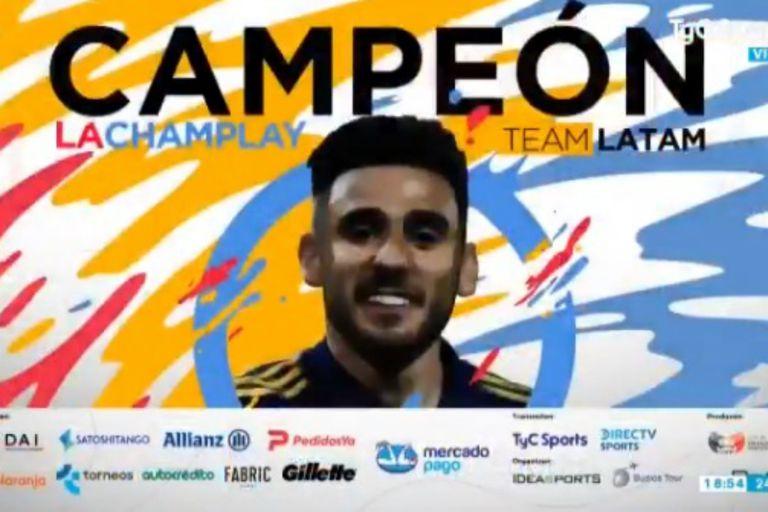 Eduardo salvio derrotó por 1 a 0 en la final a Diego Schwartzman y se consagró campeón de la Champlay Solidaria