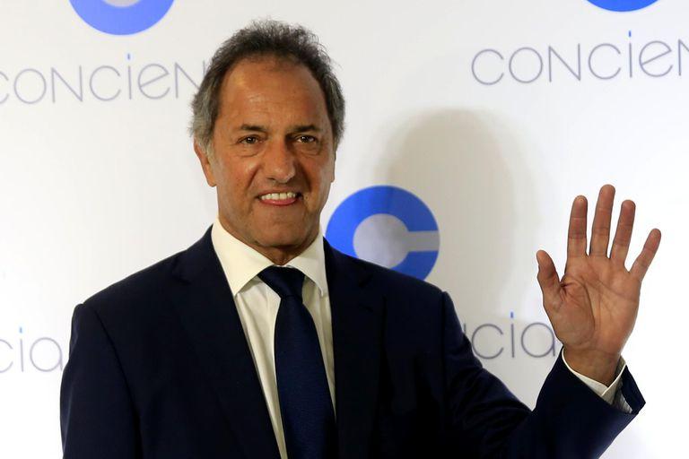 """Scioli refregó a Vidal la derrota en las PASO: """"Yo fui reelecto por el 56%"""""""