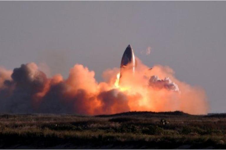 Aunque el test de SpaceX acabó en colisión, sus ingenieros podrán trabajar con la información recabada