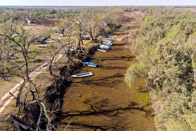 Por qué la crisis del Río Paraná también está relacionada con los incendios