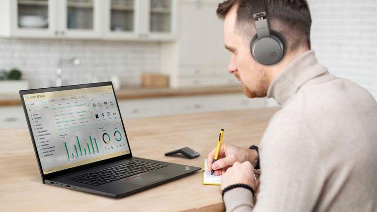 23-06-2021 El ordenador portátil ThinkPad X1 Extreme Gen 4 de Lenovo, presentado en el MWC 2021. POLITICA INVESTIGACIÓN Y TECNOLOGÍA LENOVO