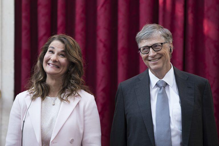 Bill Gates y su entonces esposa Melinda, en una de sus apariciones públicas en 2017