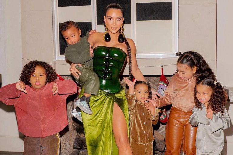 La espectacular casa que le quedó a Kim Kardashian de su divorcio de Kayne West