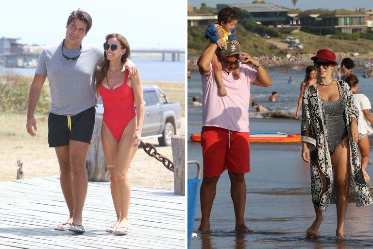 En fotos: Guillermo Andino a puro romance y Lola Bezerra en una tarde de playa