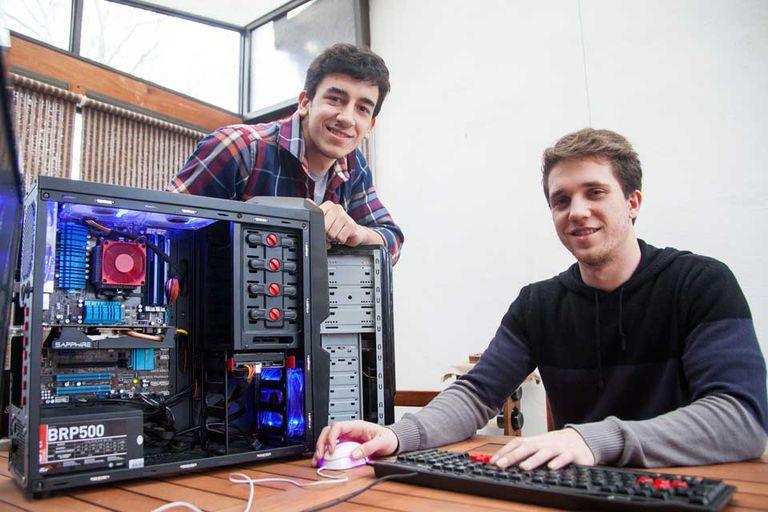 Juan Manuel Crudo y Alejandro Peña