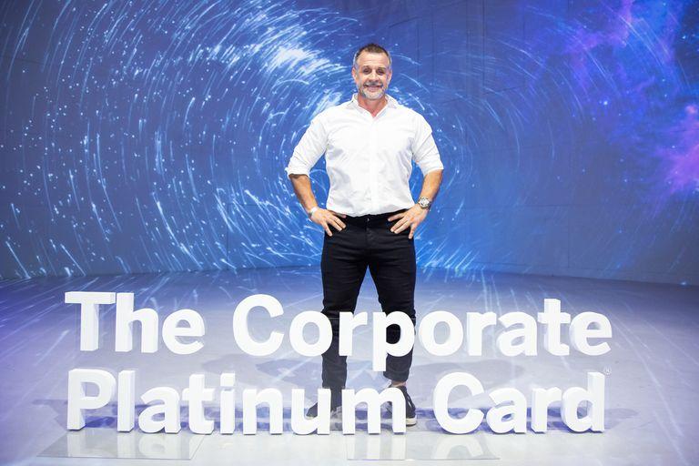 Christian Petersen presente en el lanzamiento de The Corporate Platinum Card de American Express