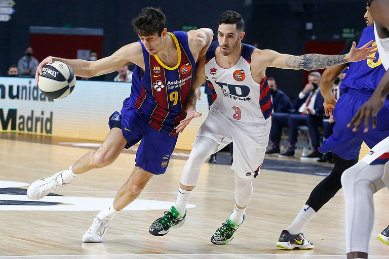 Leandro Bolmaro contra Luca Vildoza; el base de Barcelona ya fue seleccionado por Minnesota; el de Baskonia, está en el radar de los Knicks