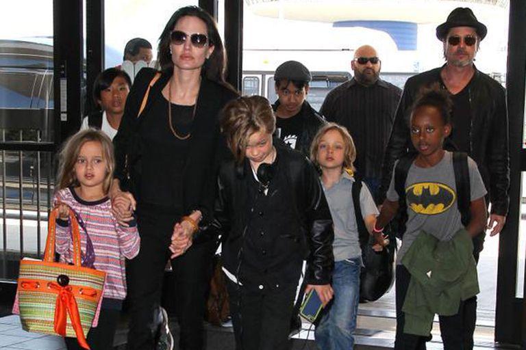 Brad Pitt consigue la tenencia compartida de sus hijos con Jolie