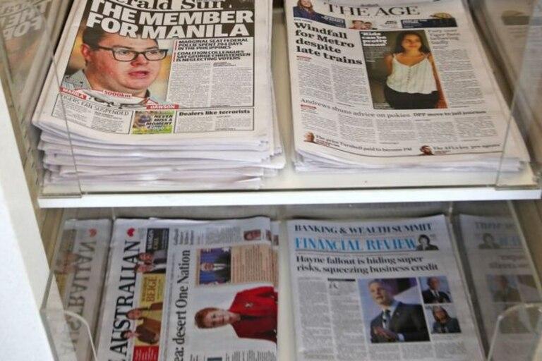 Los ingresos por publicidad de los medios australianos se han reducido en un 75% desde 2005 a la fecha