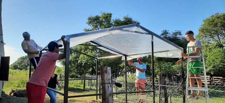 Paraje 29. El pueblo que ganó un concurso y creó un invernadero comunitario