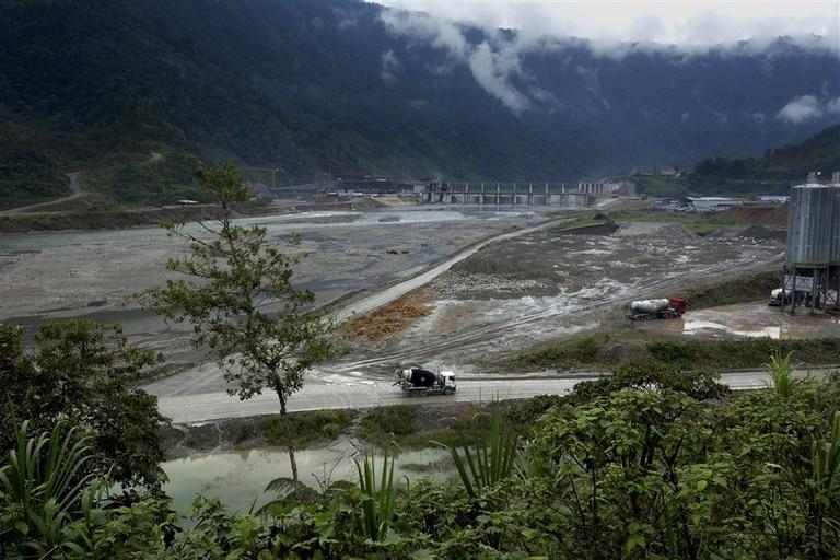 La represea hidroeléctrica que está construyendo China en Ecuador