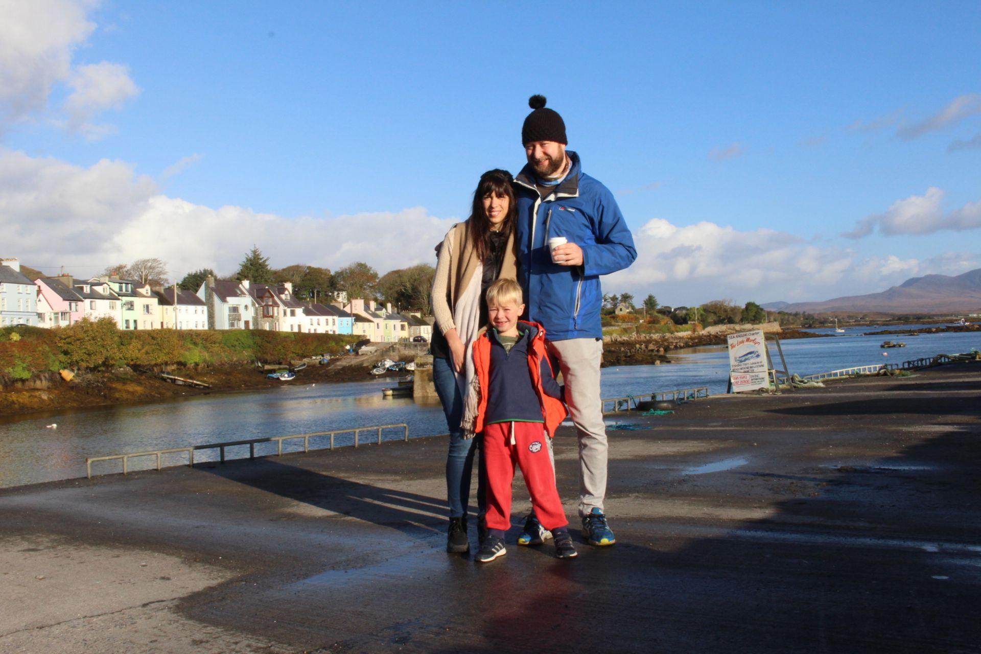En Roundstone Connemara, Irlanda.