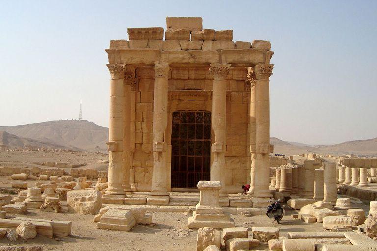 Así era el templo de Baal en Palmira