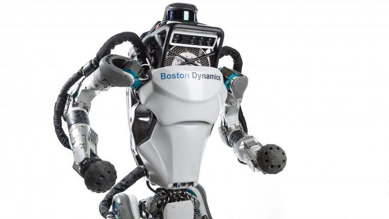Atlas, el robot humanoide de Boston Dynamics