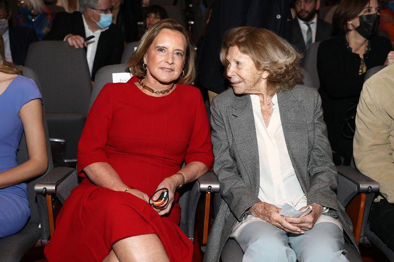 Teresa Bulgheroni y Norah Garfunkel de Hojman, presidenta y vicepresidenta de Fundación Malba