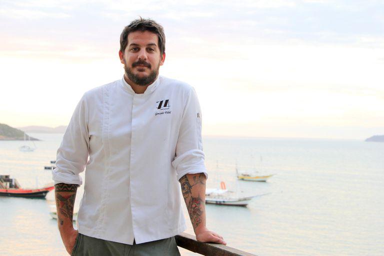 Gonzalo Vidal, el santafecino que es uno de los chefs revelación en Brasil