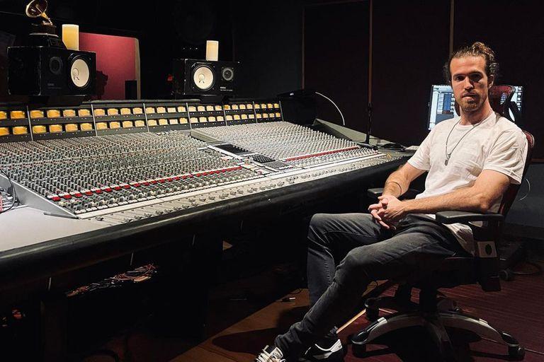 Ramiro Rodríguez Zamarripa, en el estudio de Los Angeles.