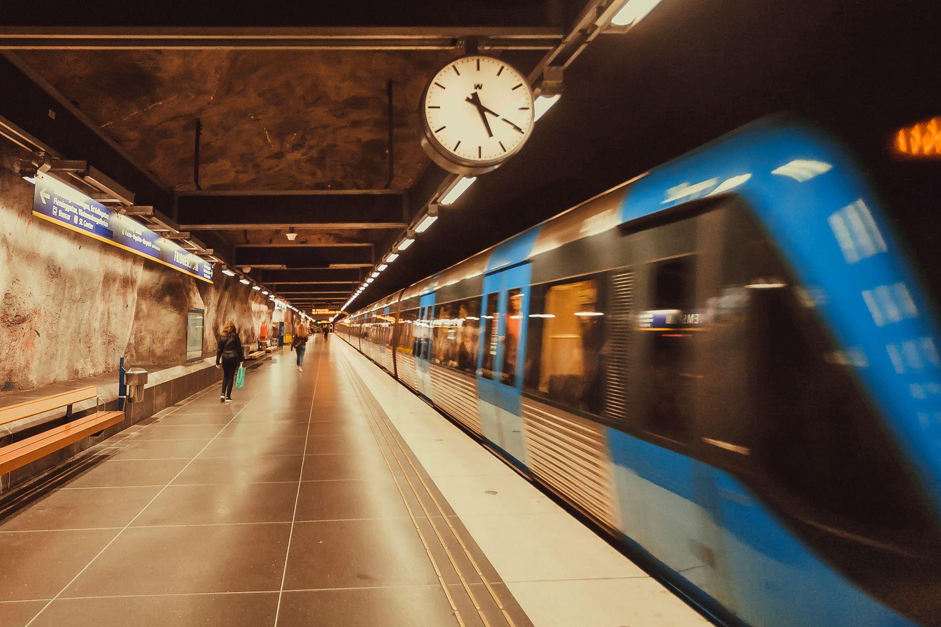 Tunnelbana, el subte sueco