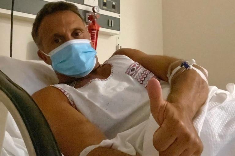 """Sergio Lapegüe, tras ser diagnosticado de Covid-19: """"Mi pulmón derecho está empezando a ser invadido por el virus"""""""