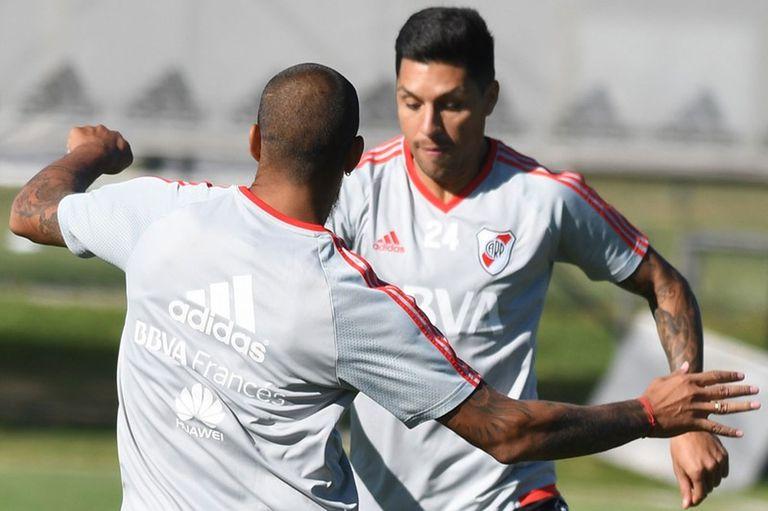Gallardo, con dudas para la Supercopa: Pity o Quintero, Mora o Scocco