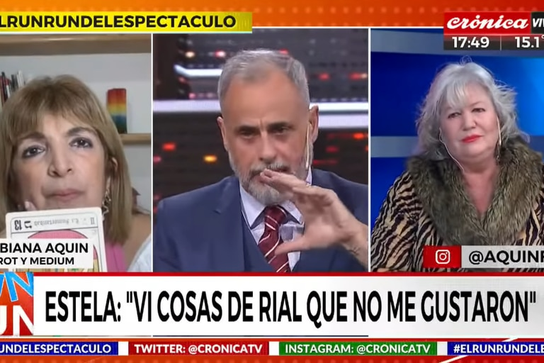 Estelita criticó el cambio de postura de Jorge Rial respecto del aborto