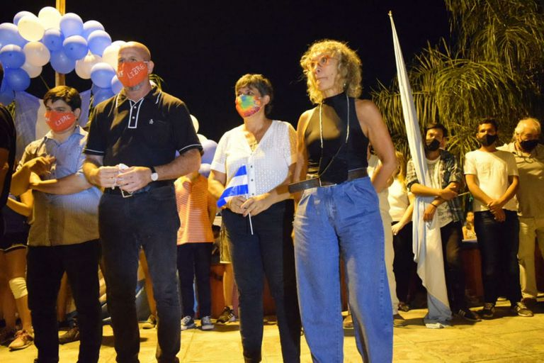 Waldo Wolff y Mónica Frade, en Clorinda