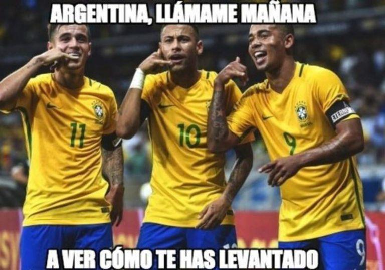 Y Brasil también festejó...
