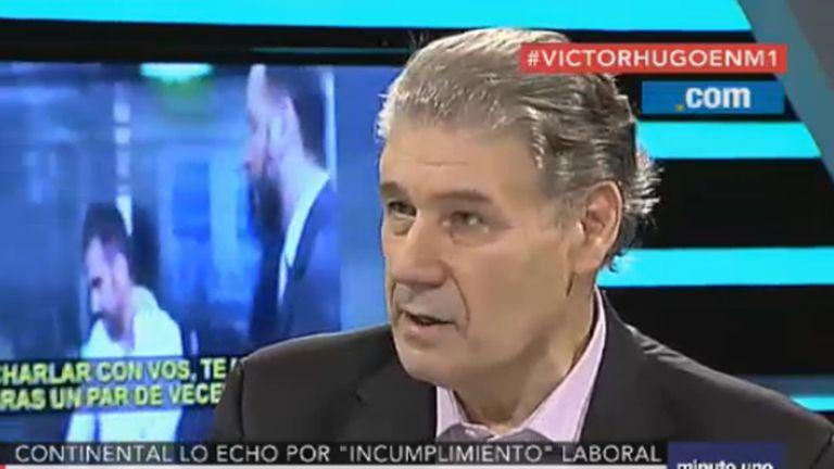 El periodista Víctor Hugo Morales atribuyó su despido a una decisión del Grupo Clarín