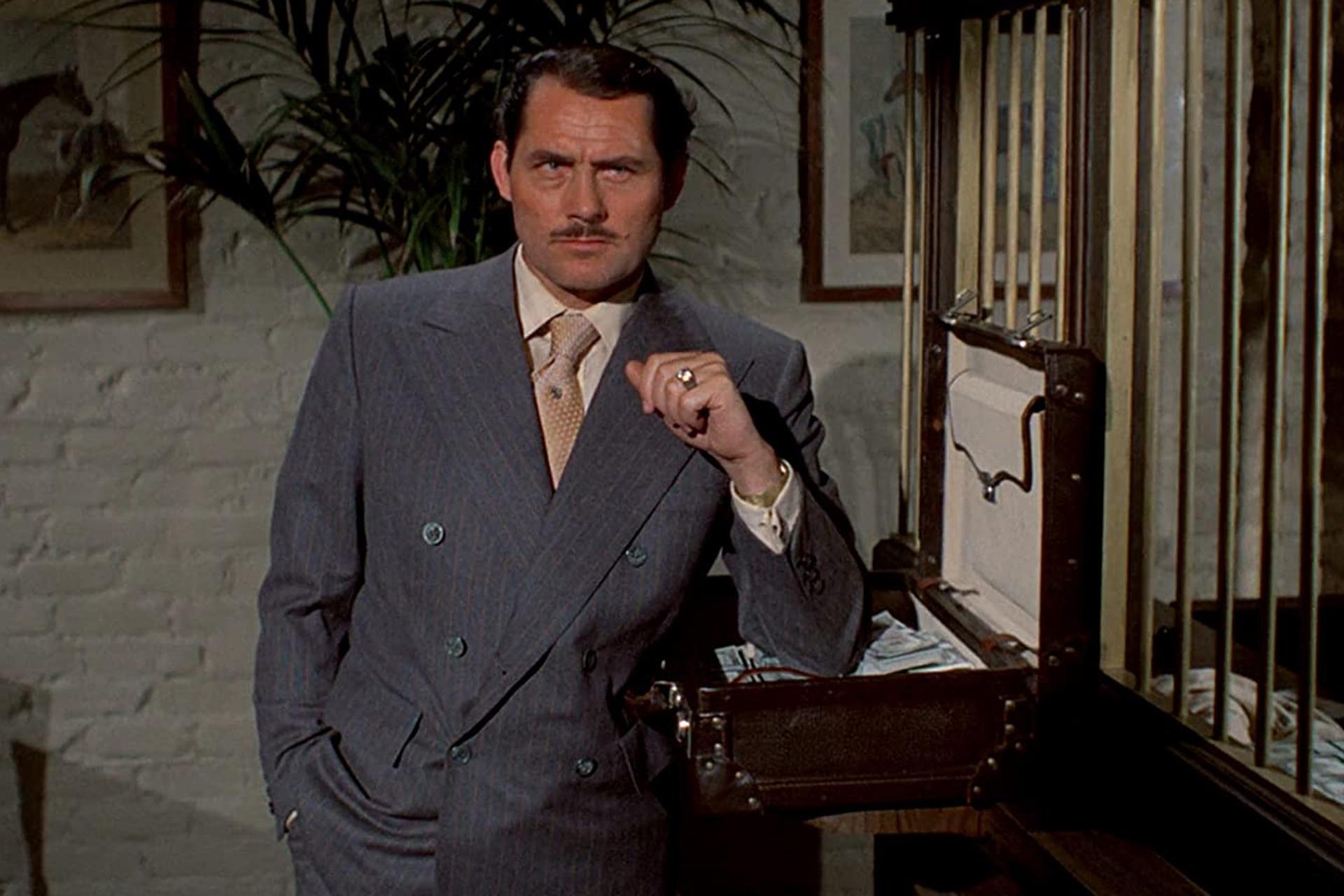 Robert Shaw, en la piel del mafioso Doyle Lonnegan