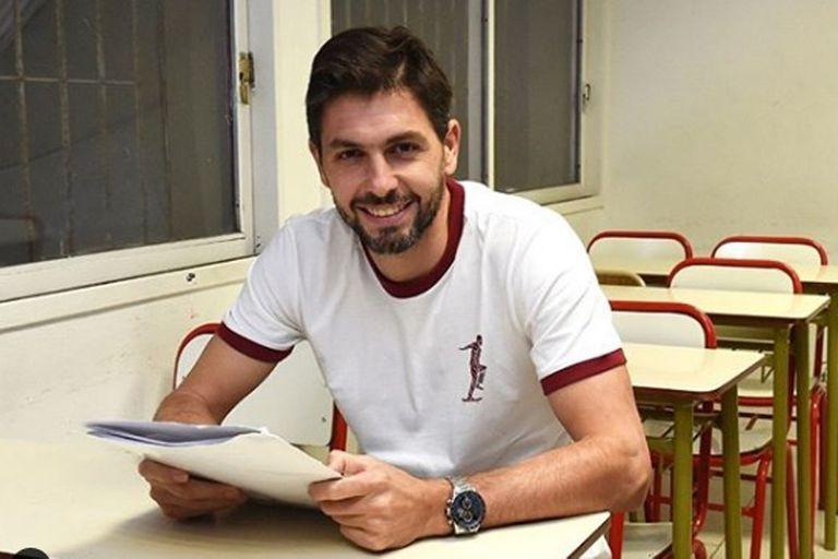 Nunca es tarde: a los 36 años, Germán Lux terminó el colegio secundario en River
